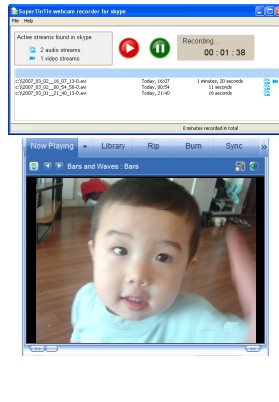 SuperTintin Recorder For Skype 1.0.0.9029 screenshot