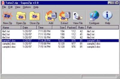 SuperZip - Zip/Unzip Utility 3.0 screenshot
