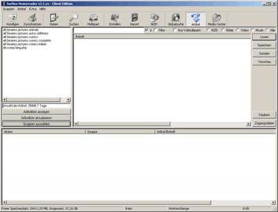 Surfino:Newsreader 2.2.2 screenshot