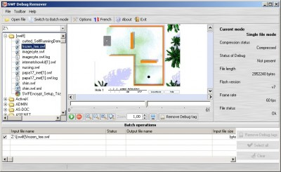 SWF Debug Remover 2.0.1 screenshot