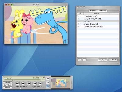 SWF Movie Player for Mac 1.1 screenshot