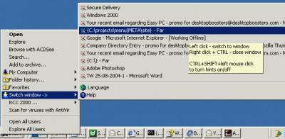 Switch Window 1.0.1 screenshot