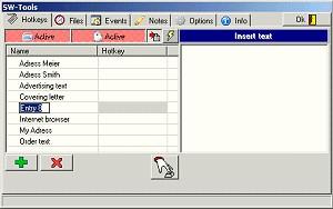SWTools 1.0 screenshot