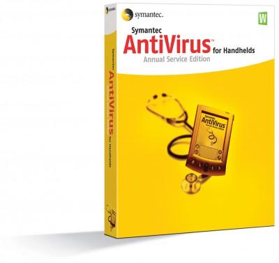 Symantec AntiVirus for Handhelds Annual Service Ed 2004 screenshot