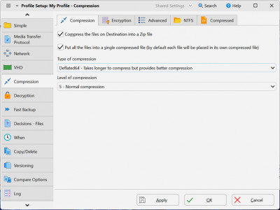 SyncBackSE 9.3.30.0 screenshot