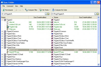 SyncFolder 1.2 screenshot