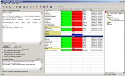 SynchronEX File Synchronizer, Backup/FTP 4.0.5.2 screenshot