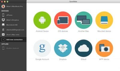SyncMate 7.3 screenshot