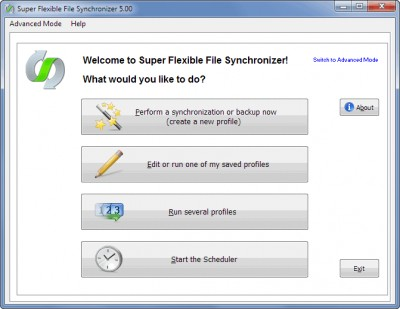 Syncovery 7.01 screenshot