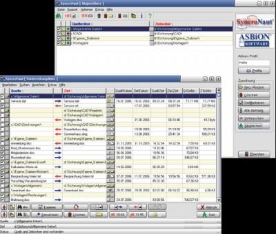 SyncroNaut 8.0.01 screenshot