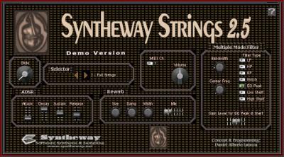 Syntheway Strings VSTi 2.5 screenshot