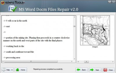 SysInfoTools MS Word Docm Recovery 2.0 screenshot