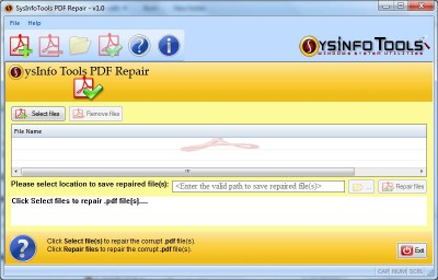SysInfoTools PDF Repair 3 screenshot