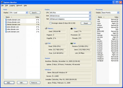 System Monitor 1.5.1 screenshot