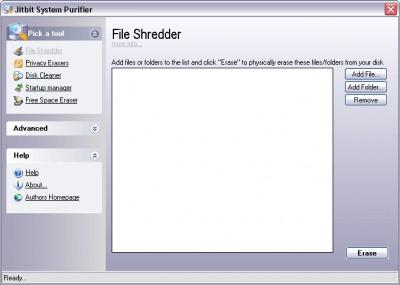 System Purifier 3.38 screenshot