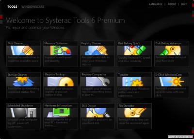Systerac XP Tools 6.02 screenshot