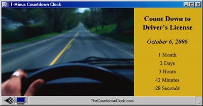 T-Minus Drivers License Countdown 6.0 screenshot