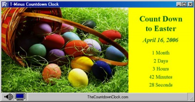 T-Minus Easter Countdown 6.0 screenshot