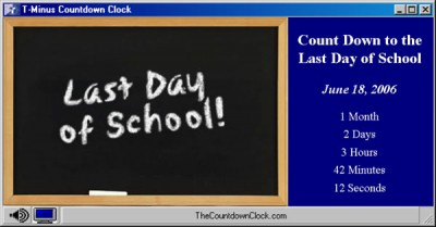 T-Minus Last Day Of School Countdown 6.0 screenshot