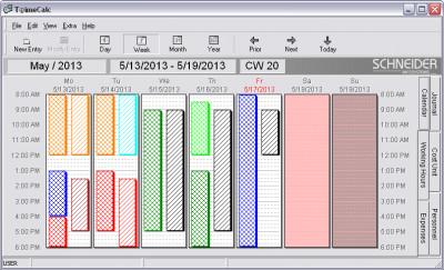 T@imeCalc 1.12.17 screenshot