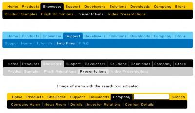 Tab Menu 2.1 screenshot