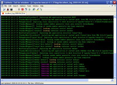 Tail4win 5.0 screenshot