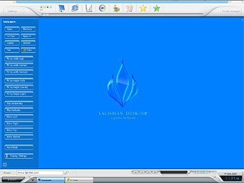 Talisman Desktop 3.4 screenshot