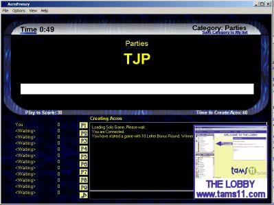 Tams11 AcroFrenzy 1.0.21.29 screenshot