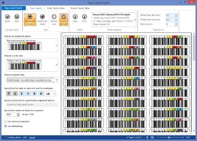 Tape Label Studio 1.2 screenshot