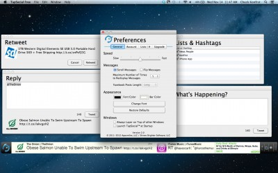 TapSocial Free for Mac 1.1 screenshot