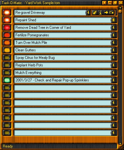 Task-O-Matic 5.0 screenshot
