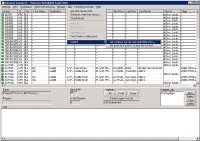 Task Scheduler Pro 2.12.07012 screenshot