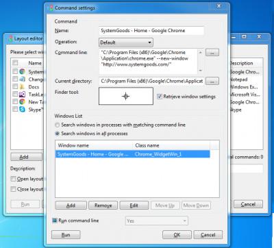 TaskLayout 0.6.1.0 screenshot