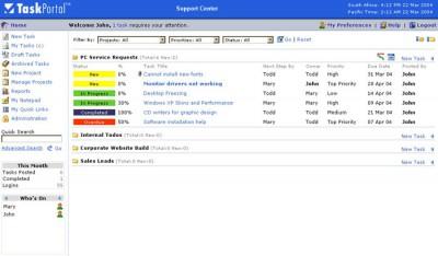 TaskPortal Host 3.2 screenshot