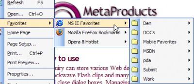 TBookmarks Component 2.8 screenshot