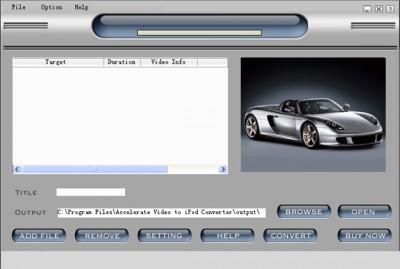 TC DVD TO iPod 2011.0211 screenshot