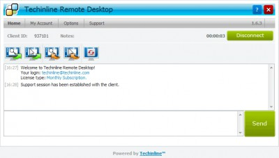 Techinline Remote Desktop 2.5.1.0 screenshot