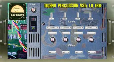 Techno Percussion VST 1.0 1.0 screenshot