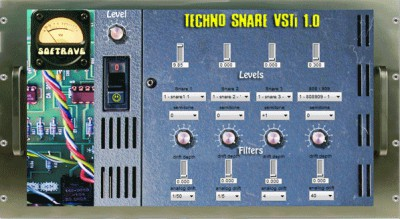 Techno Snare VSTi 1.0 screenshot