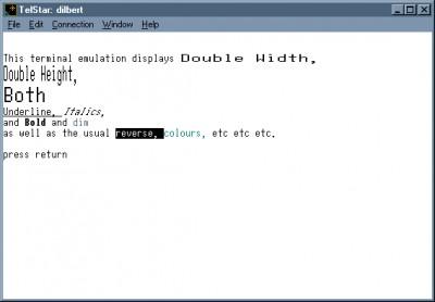 TelStar 1.9.5 screenshot