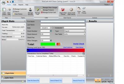 TeraCash 2013 screenshot