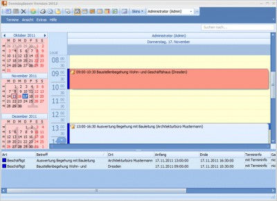Terminplaner 2017 screenshot