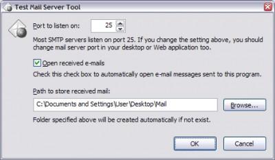 Test Mail Server Tool 2.70 screenshot