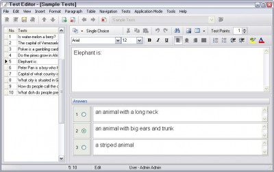 Test Maker 2.7 screenshot