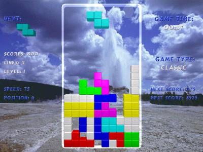 Tetris Arena 1.9 screenshot