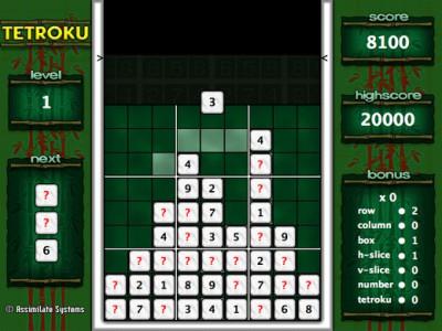 Tetroku 1.1 screenshot