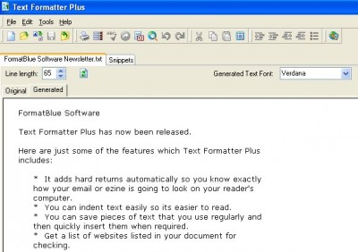 Text Formatter Plus 1.2.13 screenshot