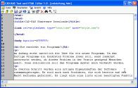 Text und HTML-Editor 1.0 screenshot