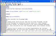 Text und HTML-Editor 1.0 screenshot