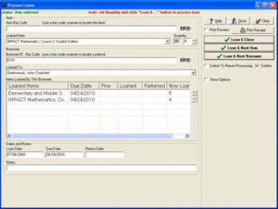 Textbook Manager Pro 3.2b screenshot